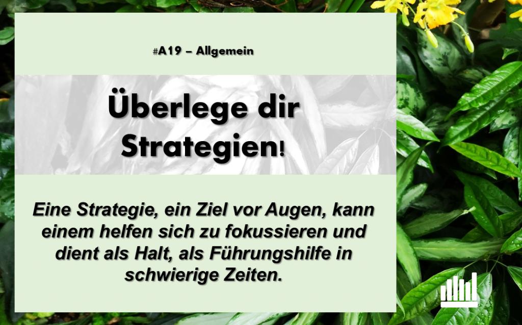 #A19 Überlege Strategien!