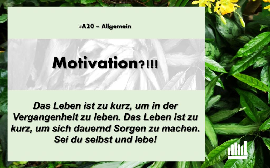 #A20 Motivation?!!!
