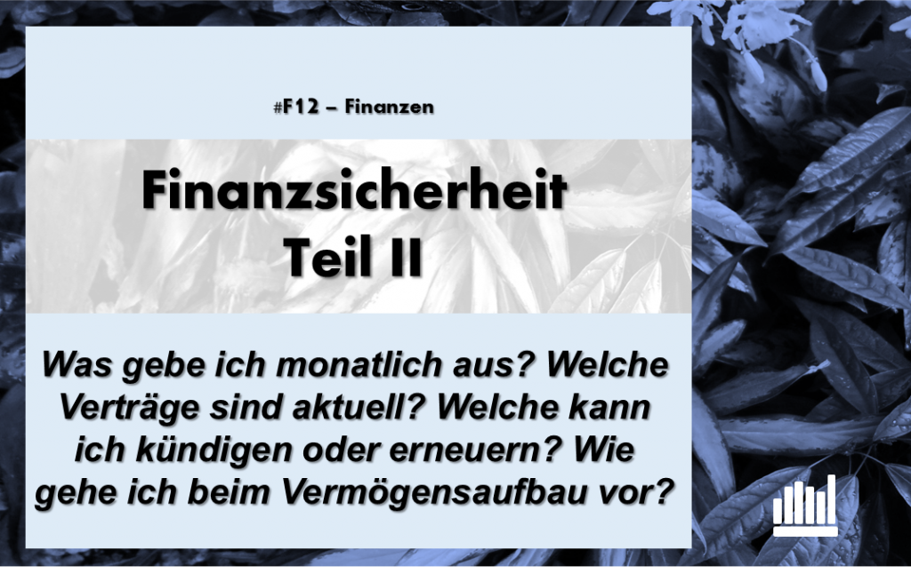 #F12- Finanzsicherheit II