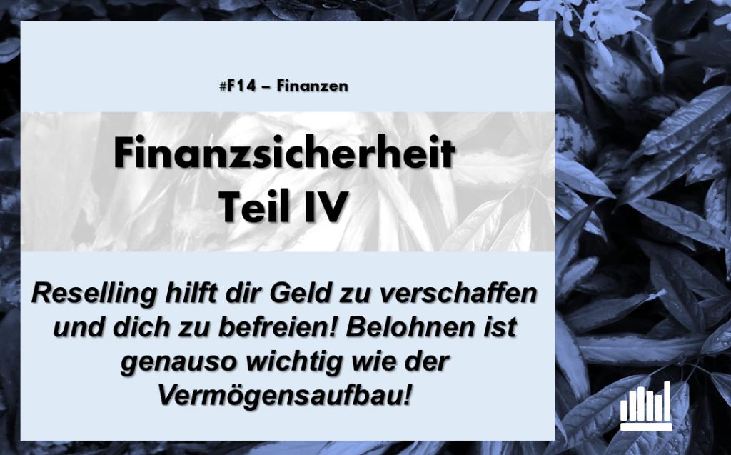 #F14 Finanzsicherheit IV